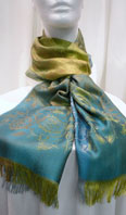 Pashmina silk blend scarf - Item # AC0121