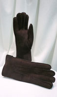 Shearling gloves - Item # AC0136