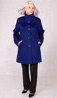 Royal blue Lora Piana 100% Super Fine Wool stroller - Item # FF0022