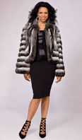 Chinchilla jacket - Item # LU0030