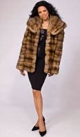 Natural sable horizontal jacket - Item # LU0032